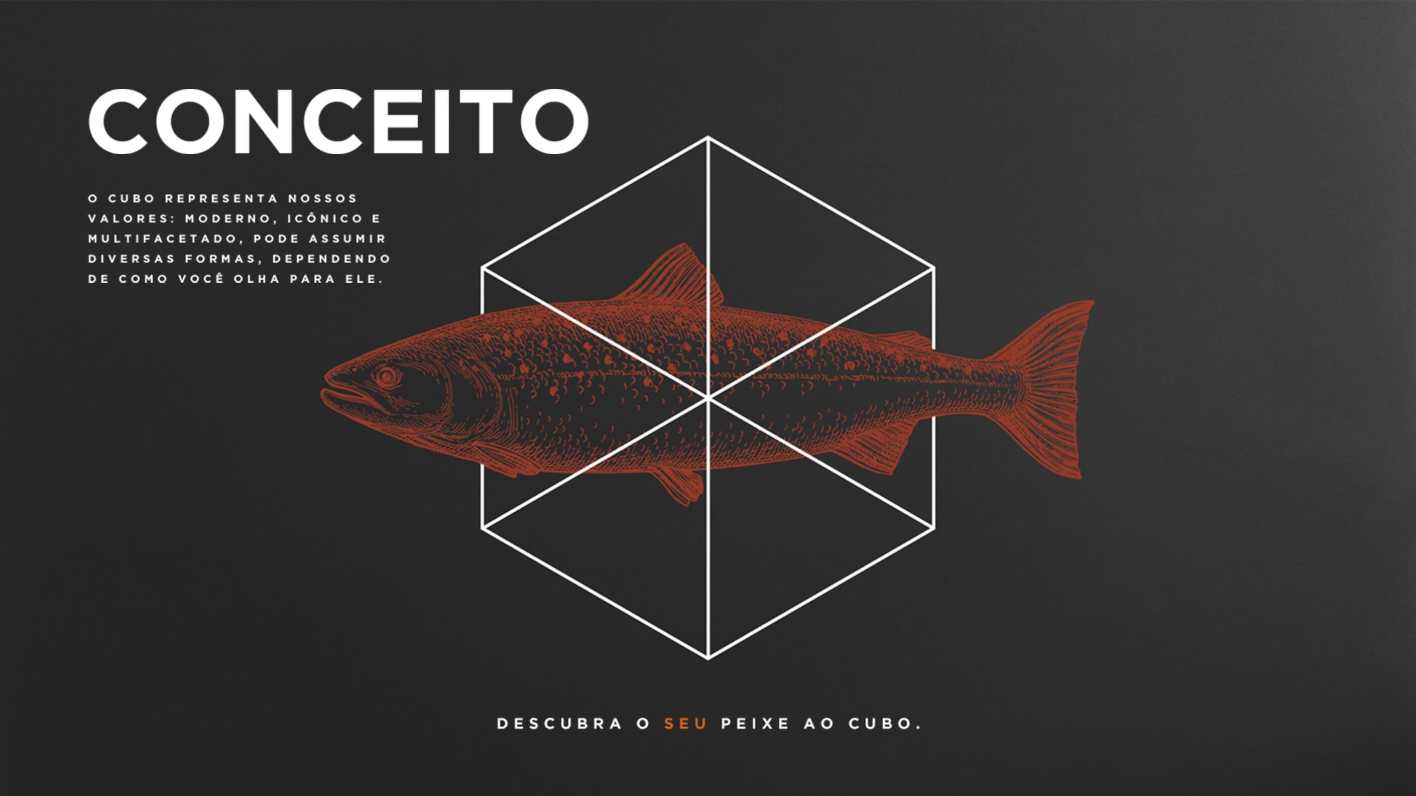 Conceito - Peixe ao Cubo